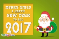 Happy Xmas And Prosperous New Year Image