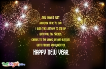 Welcome 2021. Happy New Year.