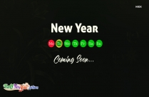 New Year Coming Soon Images