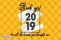 Happy New Year Thank You