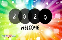 Happy New Year 2020 Wallpaper Download