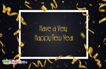 Happy Prosperous New Year Wishes, Images