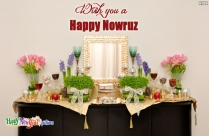 Wish You A Happy Nowruz