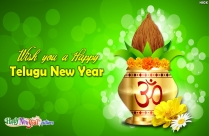 Wish You A Happy Telugu New Year