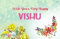 Wish You A Very Happy Vishu