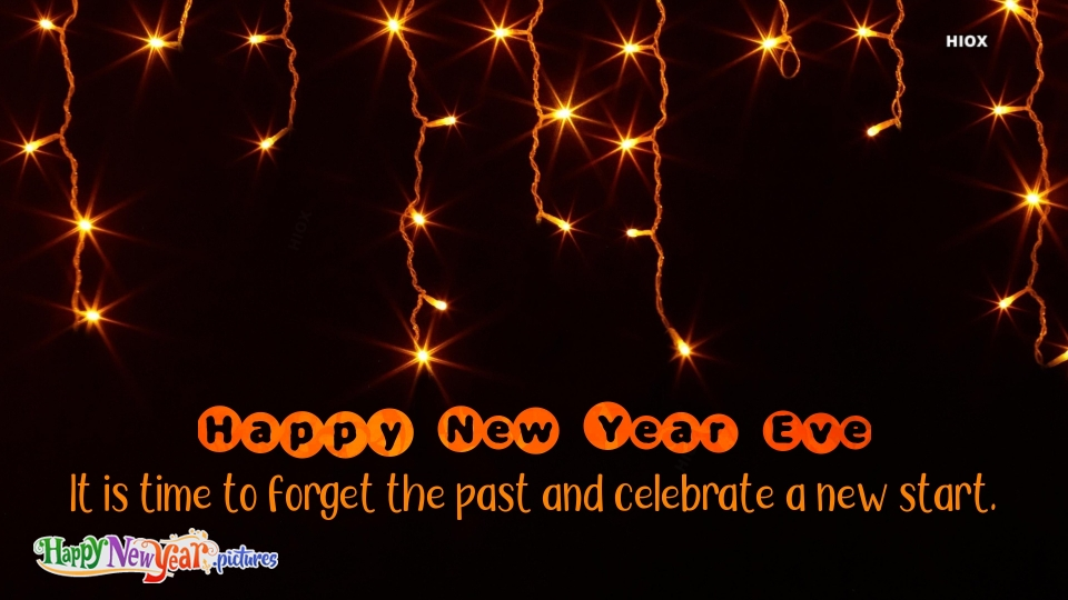 Happy New  Year Forget The Past