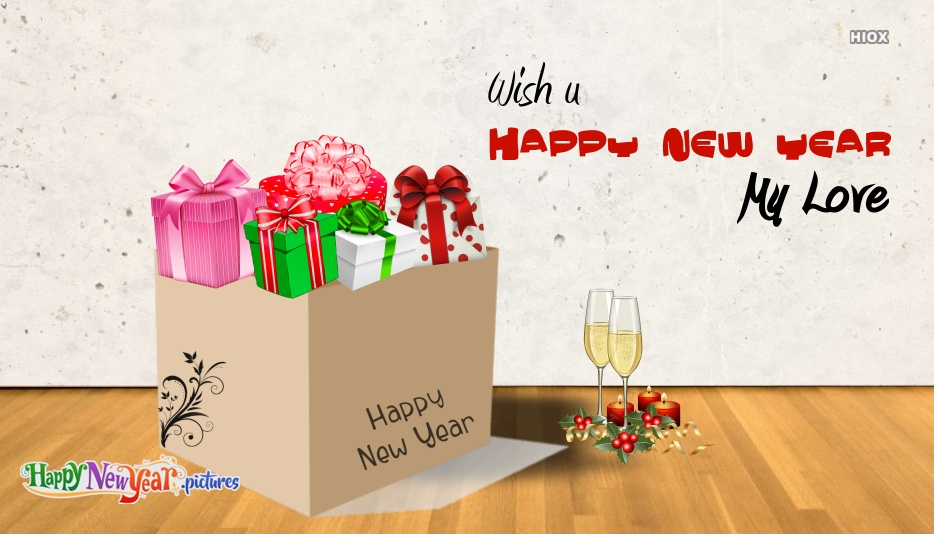 Wish U Happy New Year My Love