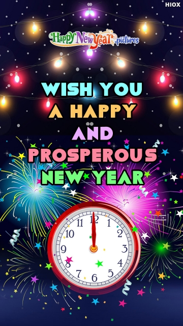 Wish You A Happy and Prosperous New Year