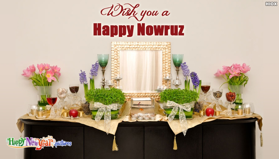 Wish You A Happy Nowruz - Happy New Year Images for Nowruz