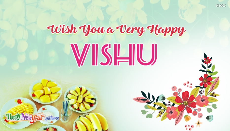 Wish you a Very Happy Vishu - Happy Vishu Greetings Images