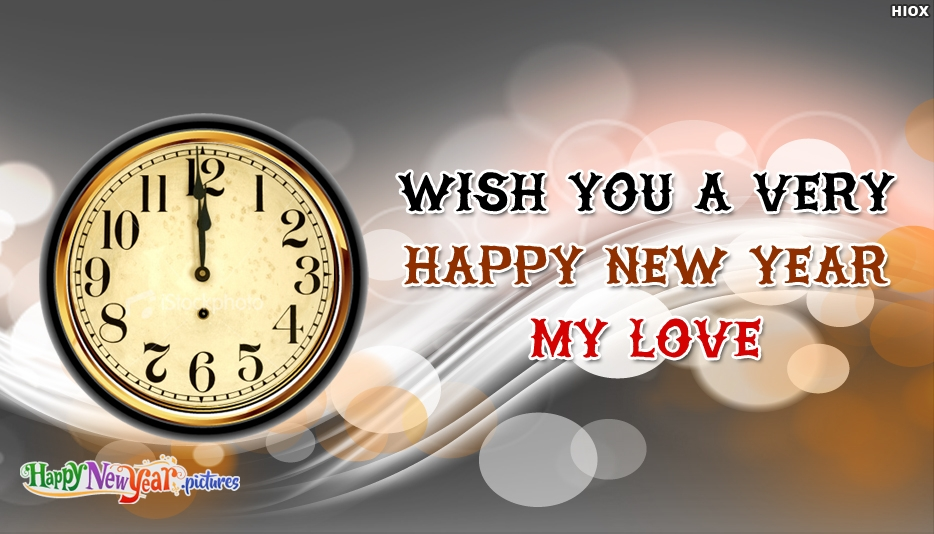 Wish You A Very Happy New Year My Love