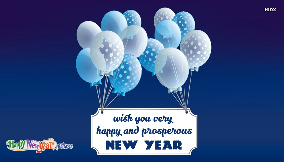 Wish You Very Happy and Prosperous New Year 2020