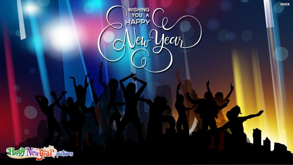 Happy New  Year Dance