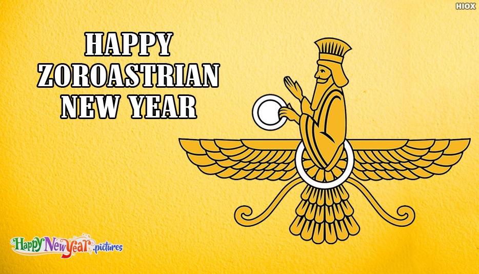 Happy New  Year Zoroastrian