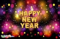 Happy New Year Sweet Friends
