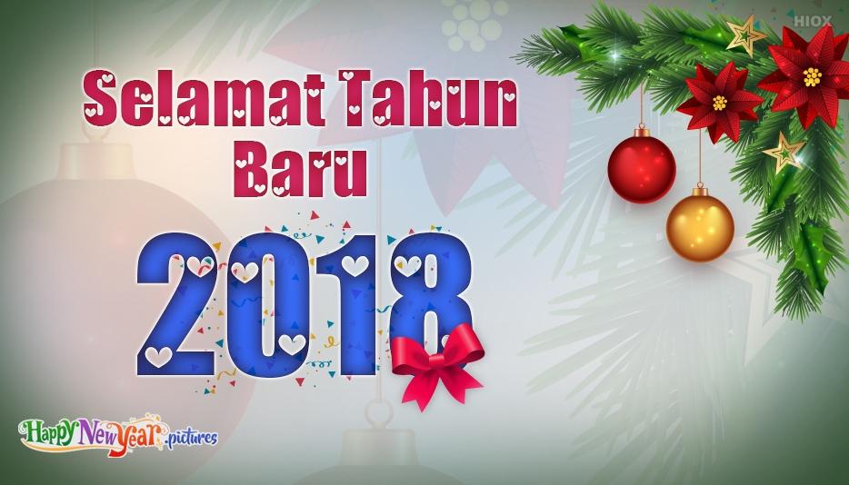 Selamat Tahun Baru Kertas Dinding