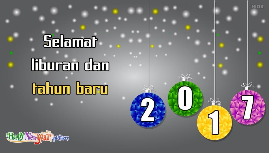 Selamat Tahun Baru Liburan
