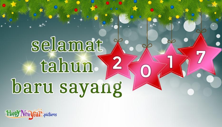 Selamat Tahun Baru Sayang