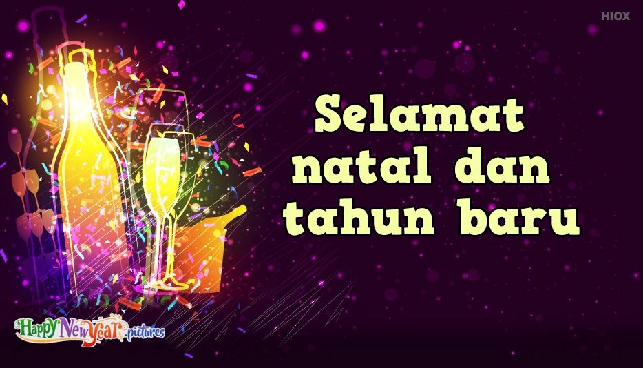 selamat tahun baru sebelumnya untuk anda semua