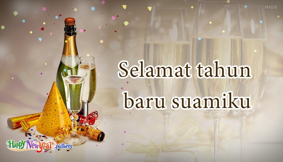 Selamat Tahun Baru Suami