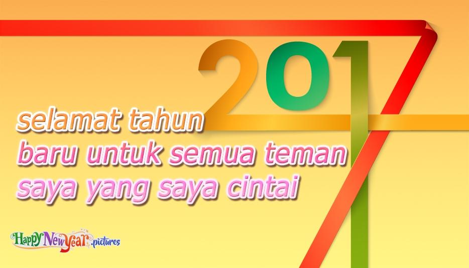 Selamat Tahun Baru Teman Teman