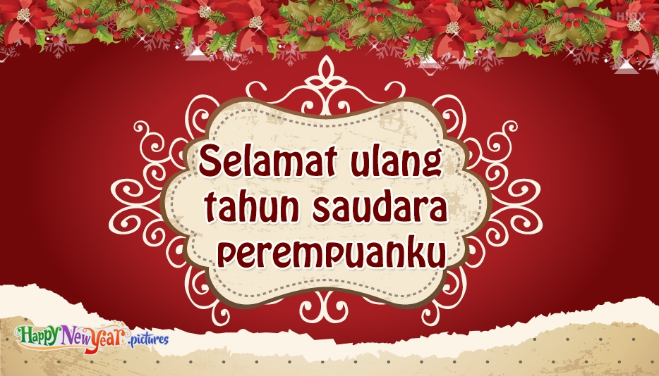 Selamat Tahun Baru Saudara