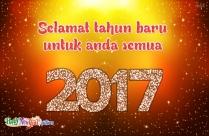 Selamat Tahun Baru Untuk Anda Semua