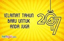 Selamat Tahun Baru Untuk Anda Juga
