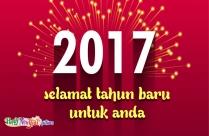 Selamat Tahun Baru Untuk Anda