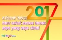 Selamat Tahun Baru Untuk Semua Teman Facebook Saya
