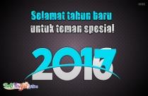 Selamat Tahun Baru Untuk Teman Spesial