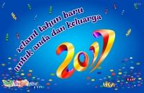 Selamt Tahun Baru Untuk Anda Dan Keluarga