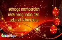 Semoga Memperoleh Natal Yang Indah Dan