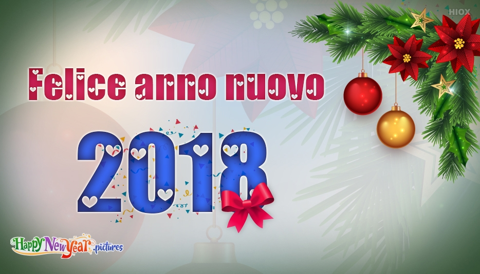 auguri felici di buon anno