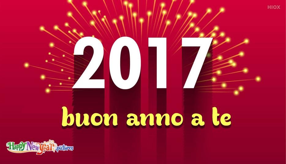 buon anno a te