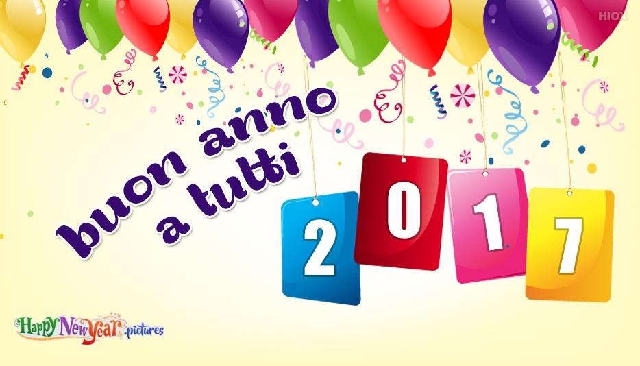 buon anno a tutti