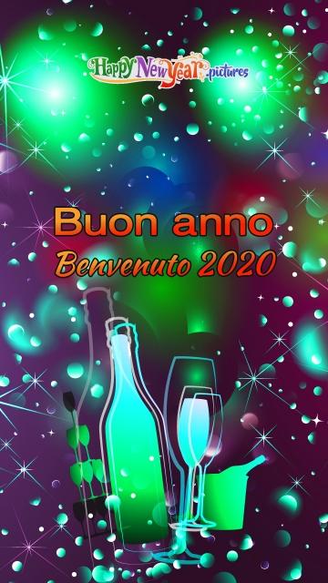 Buon Anno Benvenuto 2020