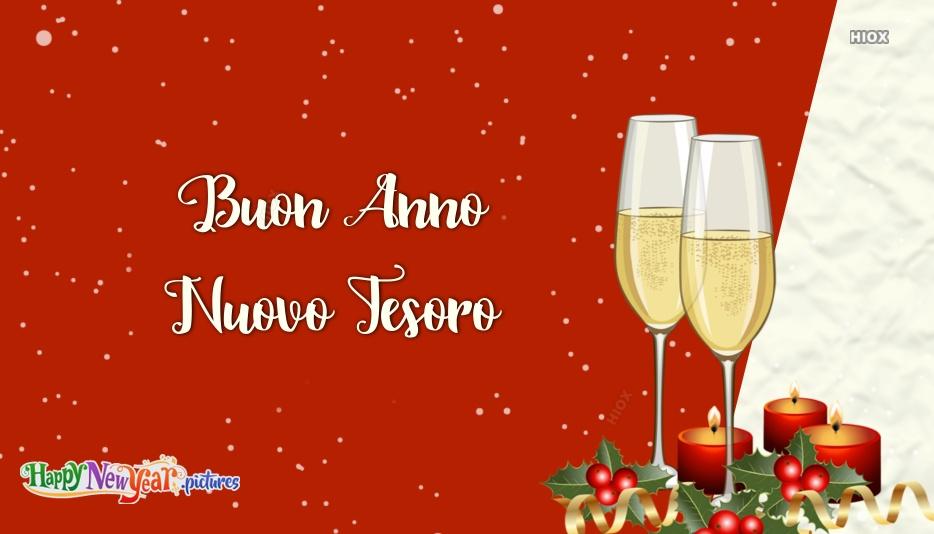 Buon Anno Nuovo Tesoro | Happy New Year Baby