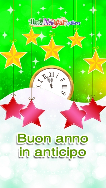 Felice Anno Nuovo In Anticipo