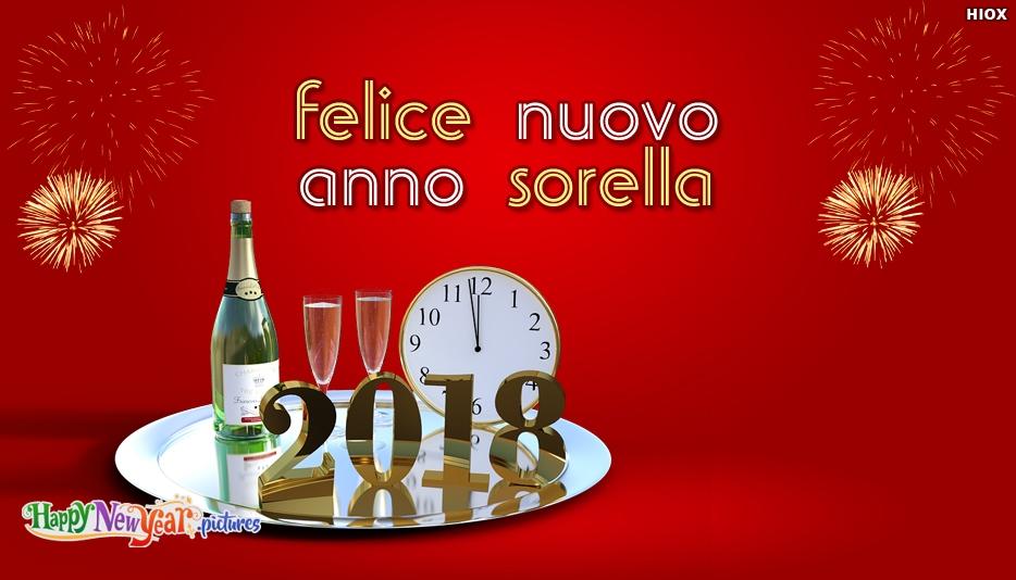 Felice Nuovo Anno Sorella