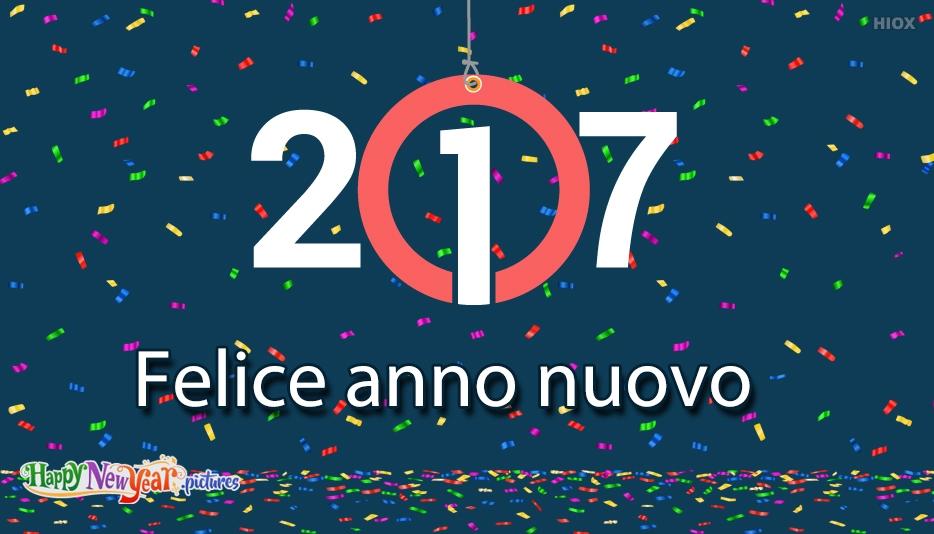 Felice anno nuovo -keyword