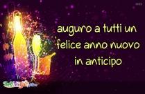 Felice Anno Nuovo E Auguri Agli Amici