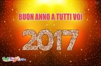 Buon Anno A Tutti Voi