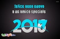 Felice Anno Nuovo A Un Amico Speciale