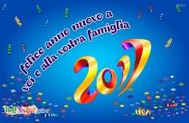 Felice Anno Nuovo A Voi E Alla Vostra Famiglia