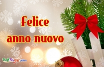 Immagine Felice Anno Nuovo