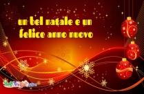 Un Bel Natale E Un Felice Anno Nuovo