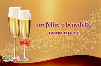 Un Felice E Benedetto Anno Nuovo