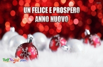 Un Felice E Prospero Anno Nuovo
