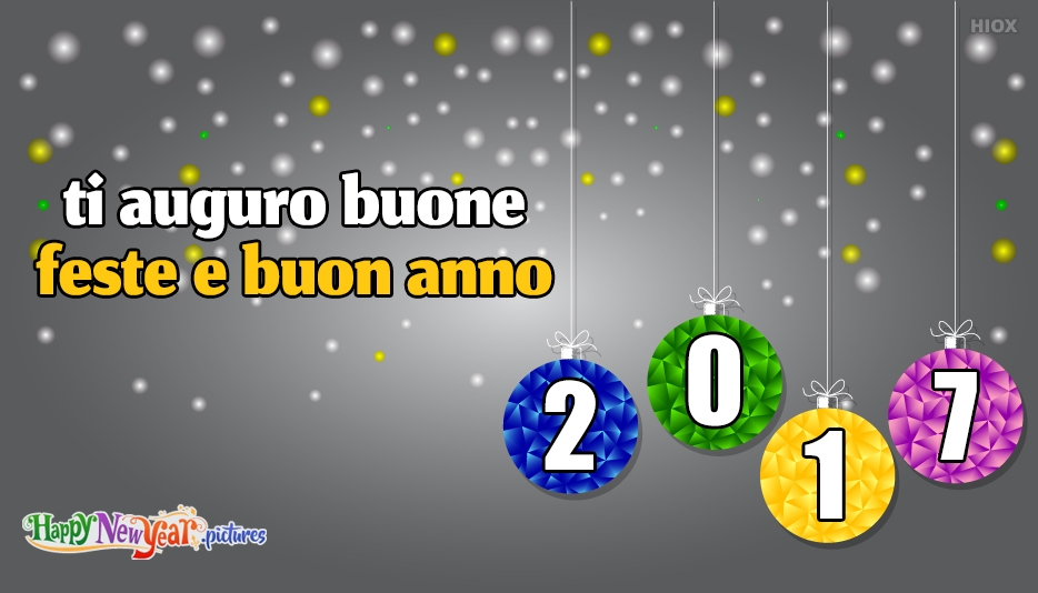 ti Auguro Buone Feste E Buon Anno